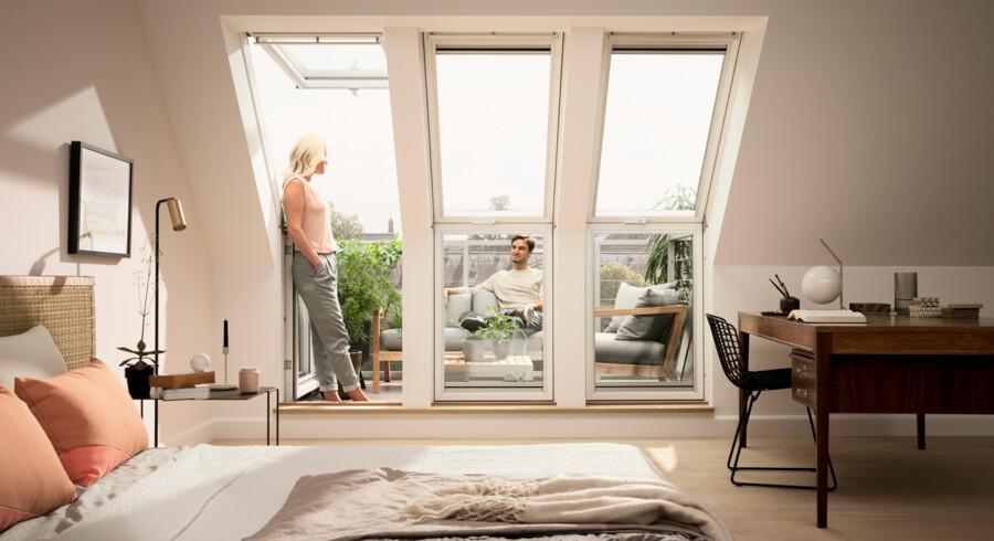 Velux er en sammentrækning af ventilation og lys – og har netop vundet stor designpris.
