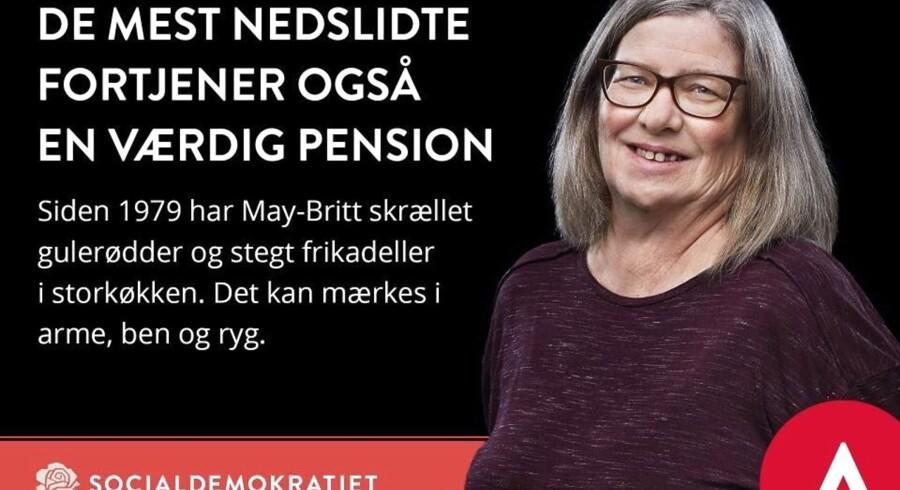 Berlingske har spurgt ti S-folketingsmedlemmer, hvornår May-Britt fortjener en værdig pension. Du kan læse deres svar i artiklen.