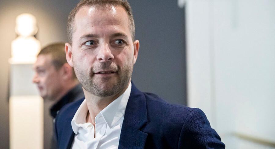 Arkivfoto: Morten Østergaard fra Det Radikale Venstre deltager i debatprogrammet Højlunds Forsamlingshus i Aabenraa onsdag den 15. maj 2019. (Foto: Frank Cilius/Ritzau Scanpix)