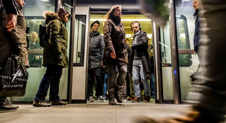 I forbindelse med etableringen af den nye ø Lynetteholmen skal København have mere metro. Spørgmålet er, hvor fremtidens metrolinje skal køre, og nu er man klar med tre bud. Arkivfoto: Søren Bidstrup