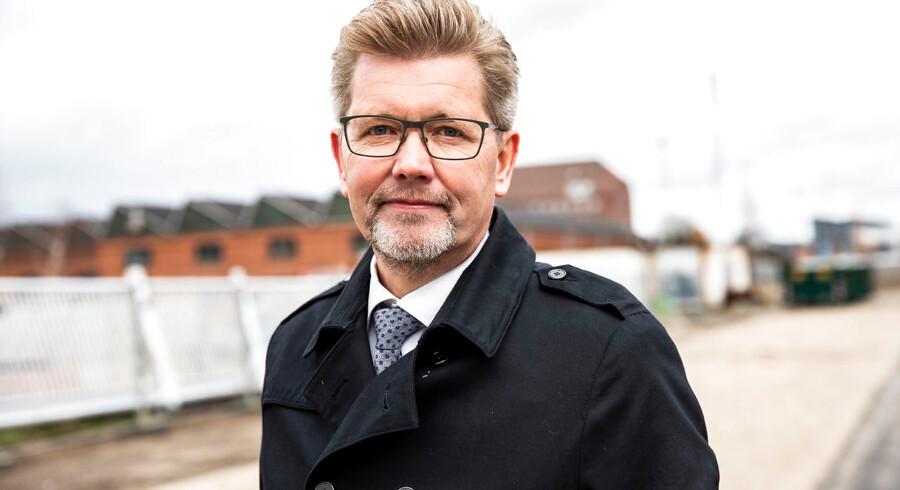 Overborgmester i København Frank Jensen (S) vil holde den høje aktivitet i byggeriet i gang ved at lempe reglerne om, at nye boliger i gennemsnit skal være 95 kvadratmeter.