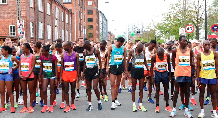 Copenhagen Marathon 2019 afvikles i de københavnske gader.