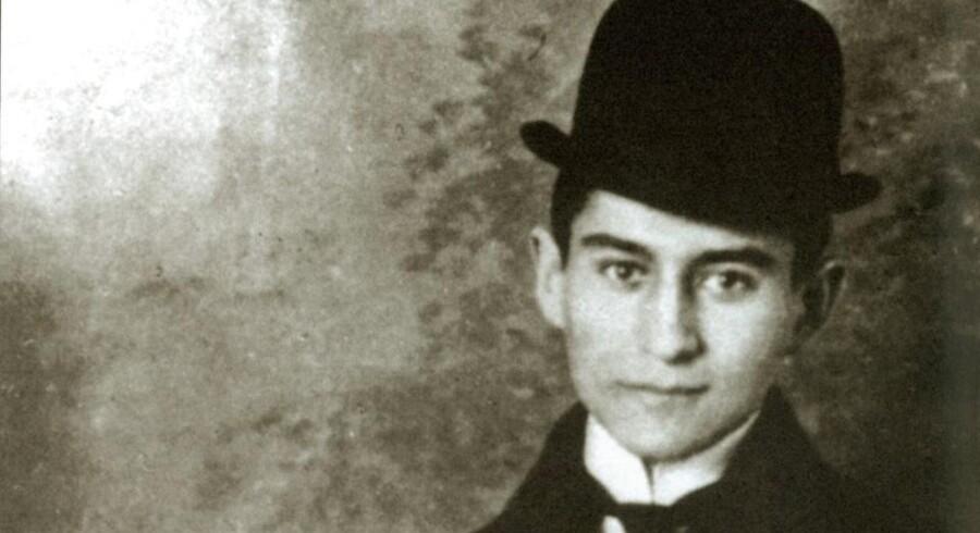 Franz Kafka, forfatter (1883-1924) (Udateret arkivbillede).