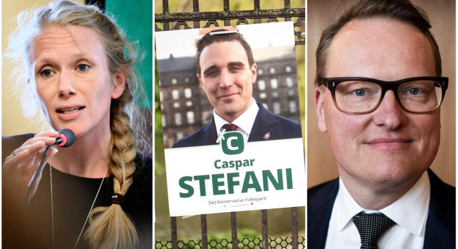 De konservative folketingskandidater Marie Høgh, Caspar Stefani og Nikolaj Bøgh blander sig allerede i dag med jævne mellemrum i den offentlige debat. Står det til dem, bliver Danmarks forsvarsforbehold ikke sendt til folkeafstemning lige foreløbig.