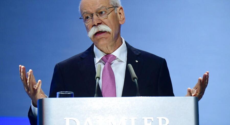 Dieter Zetsche, mangeårig topfigur i Daimler, hvor han både har siddet som adm. direktør og bestyrelsesformand.
