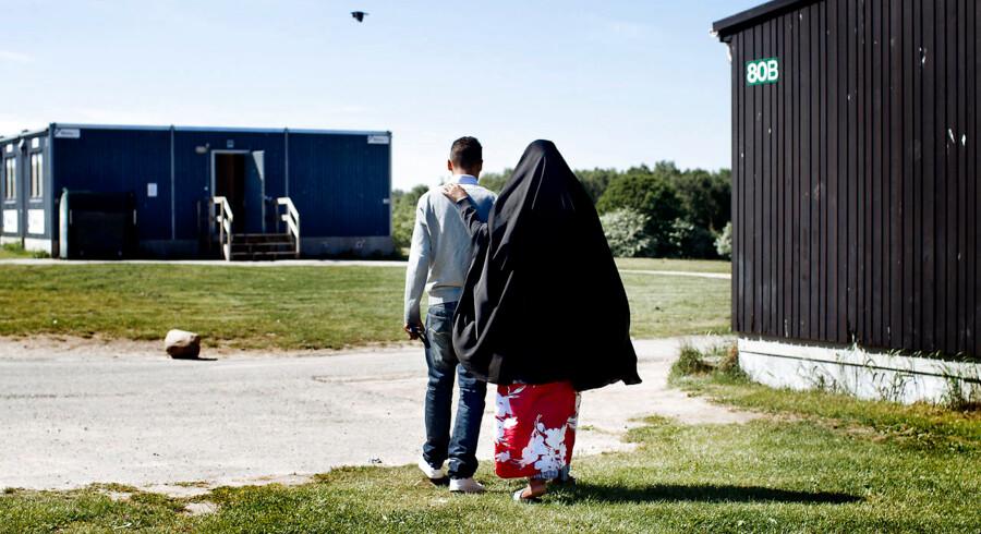 (ARKIV) Asylcenter Sandholmlejren.