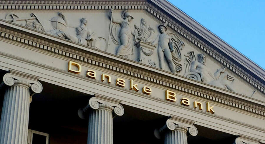 FILE PHOTO: General view of the Danske Bank building in Copenhagen, Denmark, September 27, 2018. REUTERS/Jacob Gronholt-Pedersen/File Photo *** Local Caption *** Jacob Gronholt-Pedersen - RC1771EA59A0