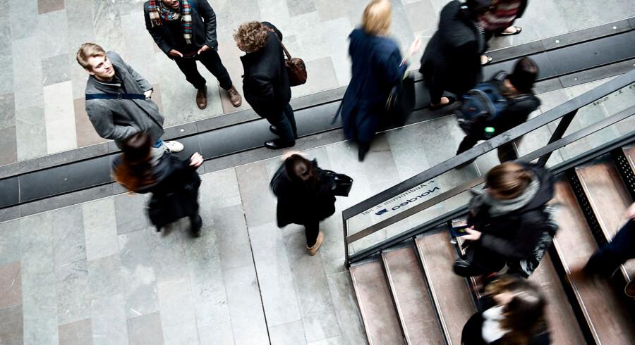 Arkivfoto af elever på Copenhagen Business School.