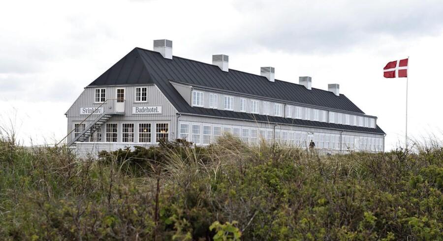 Hvis ikke man ved det, er det ikke til at se, at Svinkløv Badehotel er brandnyt. (Foto: Henning Bagger/Ritzau Scanpix)