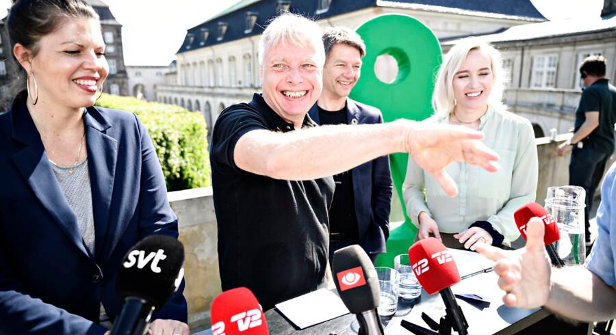 »Jeg kan ikke understrege det nok, hvor meget det betyder at få en rigere cykelkultur i vores byer,« sagde Uffe Elbæk, politisk leder i Alternativet.