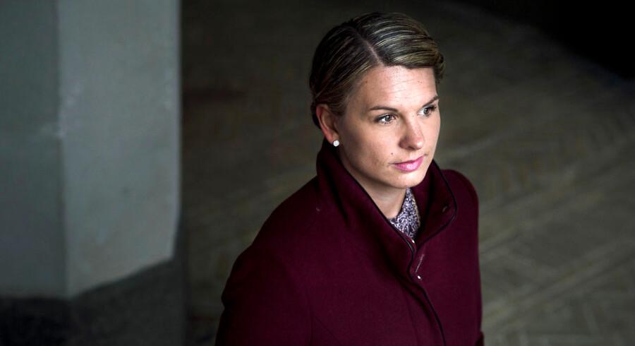 »Det var uhyggeligt, at vi ikke skulle mere end en uge ind i valgkampen, så var kassen tom,« siger de Konservatives gruppeformand, Mette Abildgaard.