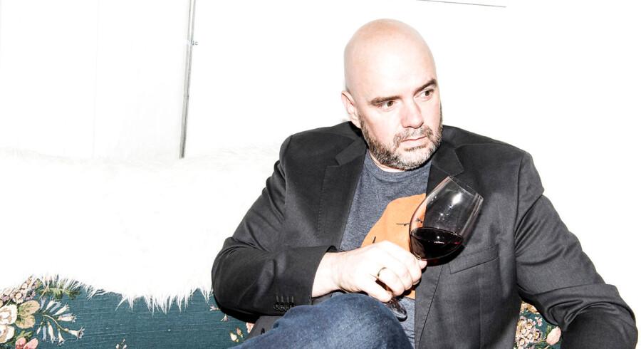 Portræt af Heini Zachariassen, stifter af vinappen Vivino.