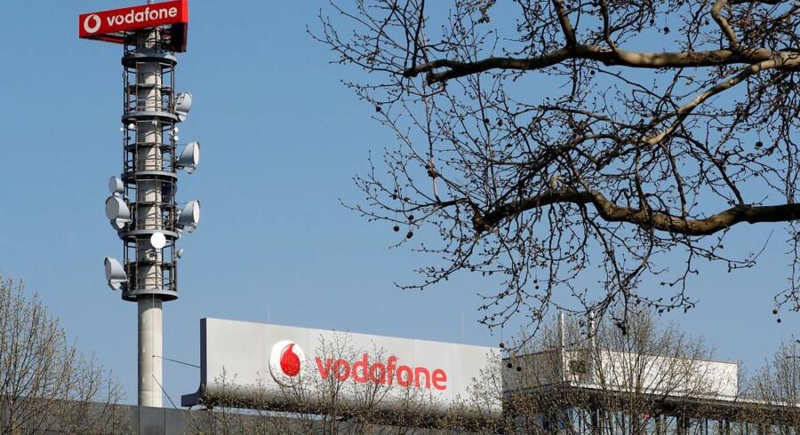 Topchefen for den tyske gren af et af verdens største mobilselskaber, britiske Vodafone, kalder den netop afsluttede auktion over 5G-mobilfrekvenser for katastrofal. Arkivfoto: Fabrizio Bensch, Reuters/Ritzau Scanpix