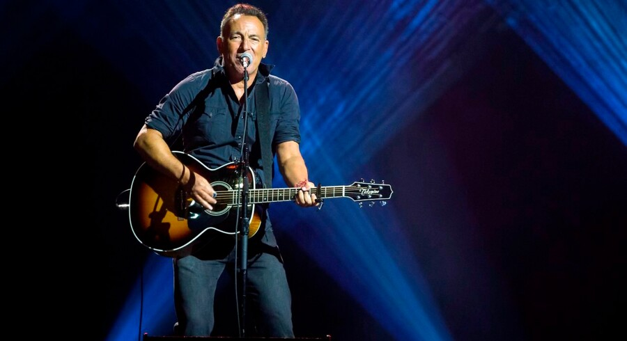 "(FILES) In this file photo taken on September 30, 2017, Bruce Springsteen performs during the closing ceremony of the Invictus Games 2017 at Air Canada Centre in Toronto, Canada. - The Boss is back in town: Bruce Springsteen said on April 25, 2019 he will release his first new album in five years this June, promising a return to his signature ruminations on the American condition. Springsteen's 19th studio album ""Western Stars, "" set for release June 14, drew inspiration from southern California pop classics of the 1960s and 70s, the legendary artist from New Jersey said. (Photo by Geoff Robins / AFP)"