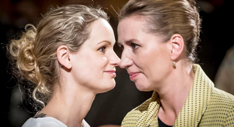 Mette Frederiksen (S) og Pernille Skipper (EL) repræsenterer begge et mindretal i Folketinget.