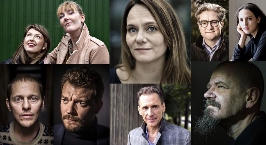 I efteråret er der litterært nyt fra bl.a. skuespillerduoen bag »Ditte & Louise« og fra Maren Uthaug, Søren Pind, Isabella Hammad, Thure Lindhardt, Pilou Asbæk, David Lagercrantz og Kim Leine.