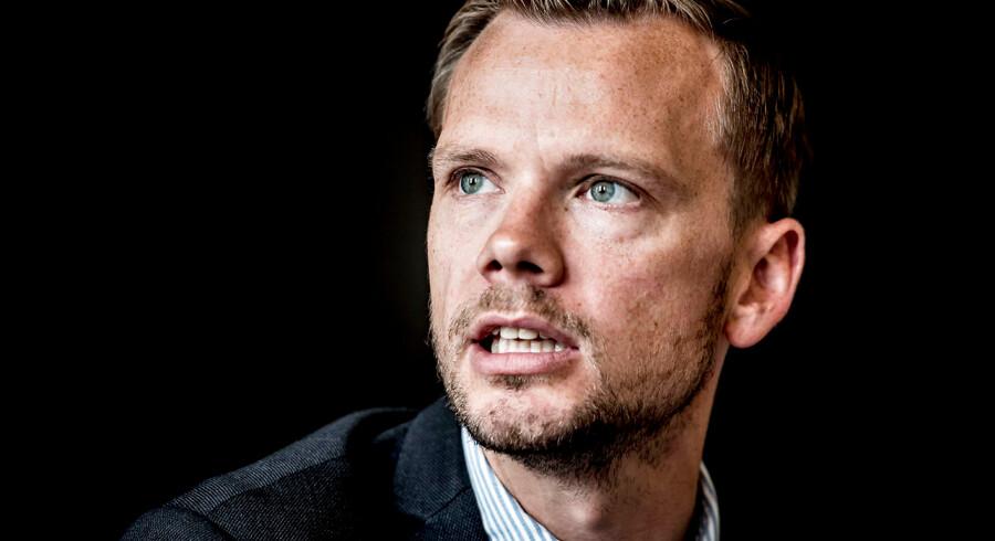 """Peter Hummelgaard (S) deltager når Tænketanken Europa på en høring tirsdag den 19. september præsenterer rapporten """"De suveræne danskere"""", der udspringer af et større forskningsprojekt om suverænitet. Udover offentliggørelse af rapporten vil der blandt andet være debat om suverænitet.. (Foto: Mads Claus Rasmussen/Scanpix 2017)"""