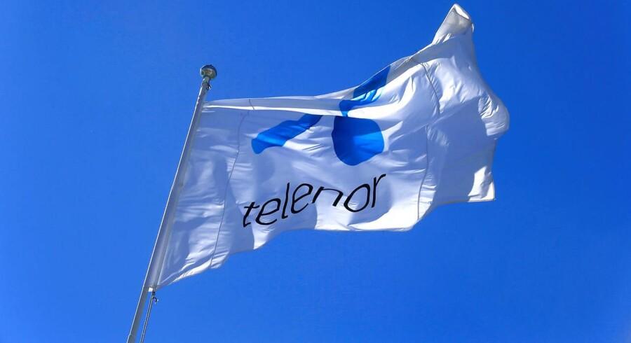 Telenor brugte sine muskler og sin store markedsandel til at generere konkurrerende selskaber, mener de norske konkurrencemyndigheder, som fastholder kæmpebøden til selskabet. Arkivfoto: Ints Kalnins, Reuters/Ritzau Scanpix