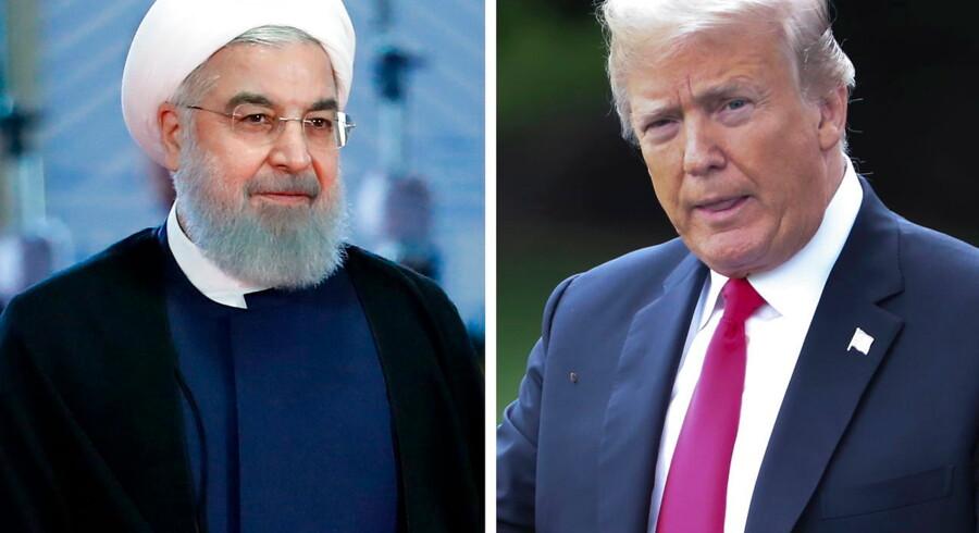 Donald Trumps forhold til Irans præsident Hassan Rouhani har mildest talt været anspændt, siden Trump trak sig ud af atomaftalen og genindførte en række hårde sanktioner mod Iran for et år siden. Og forholdet er kun blevet værre i løbet af den seneste uge, hvor to olietankere er blevet angrebet i Den Persiske Golf, et oliefelt er blevet ramt af missiler i Basra i Irak, og en amerikansk drone er blevet skudt ned.