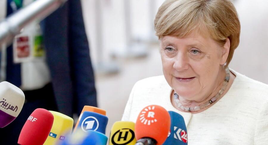 Arkiv. Angela Merkel.