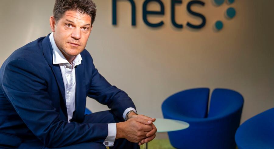 Stefan Götz, bestyrelsesformand for Nets