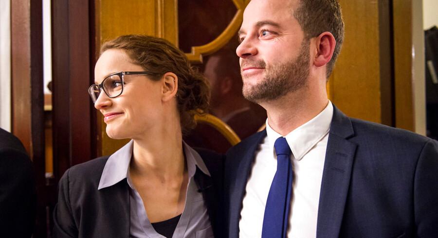 Morten Østergaard fra de Radikale og Pernille Skipper fra Enhedslisten trækker i hver sin retning under de aktuelle regeringsforhandlinger. Men hvor går de hen, hvis forhandlingerne bryder sammen?