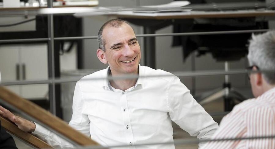 Thomas Fischer er adm. direktør for managementkonsulentfirmaet Valcon A/S. Virksomheden har sat sig meget høje mål, når det kommer til medarbejdertilfredshed.
