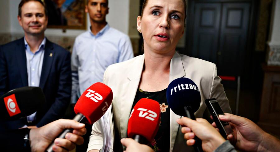 Mette Frederiksen har bl.a. udpeget Nicolai Wammen og Mattias Tesfaye fra Socialdemokratiet som nye ministre.