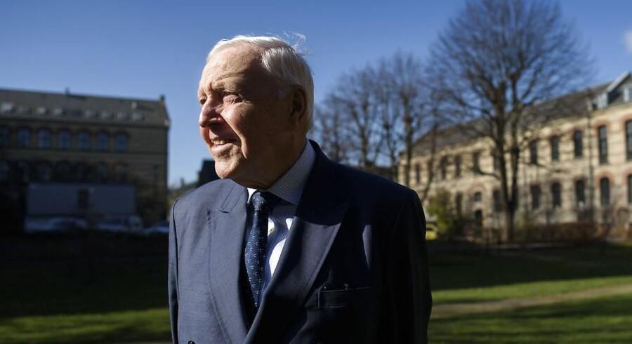 Arkivfoto. Niels Thygesen regnes af sine kolleger som den internationalt set mest indflydelsesrige danske økonom nogensinde.