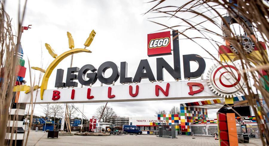 Arkivfoto: Legoland i Billund er bare et af otte Legolandsparker på verdensplan.