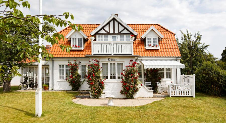 Villa Hygge var temmeligt misligholdt, da Gert Brask opdagede det i 1975. Over en årrække fik han stedet omskabt til sin drømmebolig inspireret af 1800-tallets bygninger.