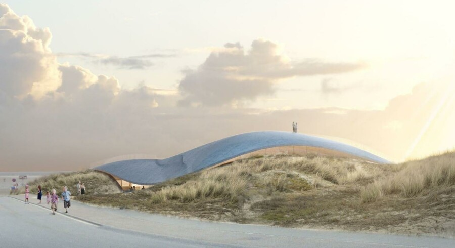 Centret tegnet af Bjarke Ingels Group, der skal bære navnet Lycium, skal fungere som naturhistorisk indgang til Vadehavsområdet, der i 2014 blev optaget på Unesco's Verdensarvsliste