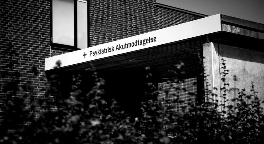 Den nu drabssigtede soldat var i november 2018 kortvarigt indlagt på Psykiatrisk Akutmodtagelse i Ballerup.