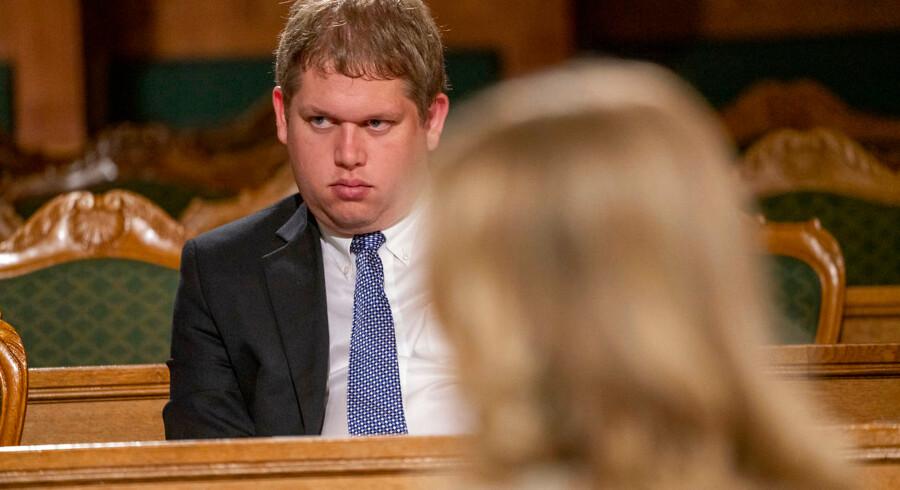 Partilederrunde efter valgresultatet. Rasmus Paludan.