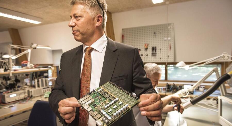 Administrerende direktør Peder R. Pedersen har netop leveret Weibel Scientifics bedste resultat til dato. Han har været med siden den nyere begyndelse, hvor han programmerede og udviklede den specielle sporingsteknologi, som stadig er en del af de avancerede radarer fra virksomheden.
