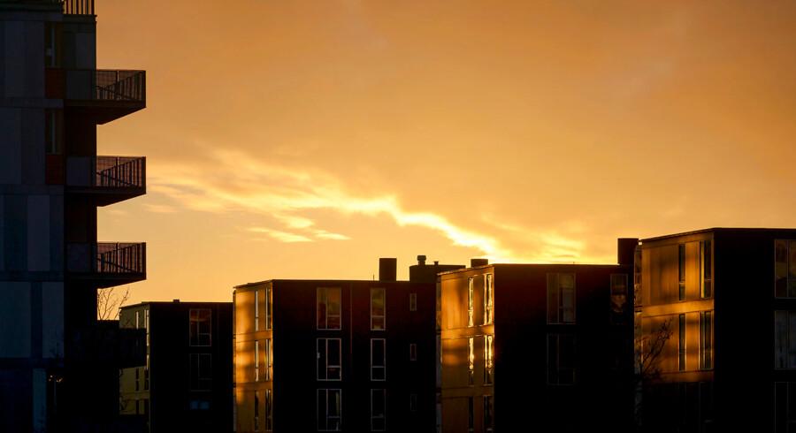 Lejligheder i Københavnsområdet er stadig steget kraftigere i pris end de fleste huse på længere sigt.