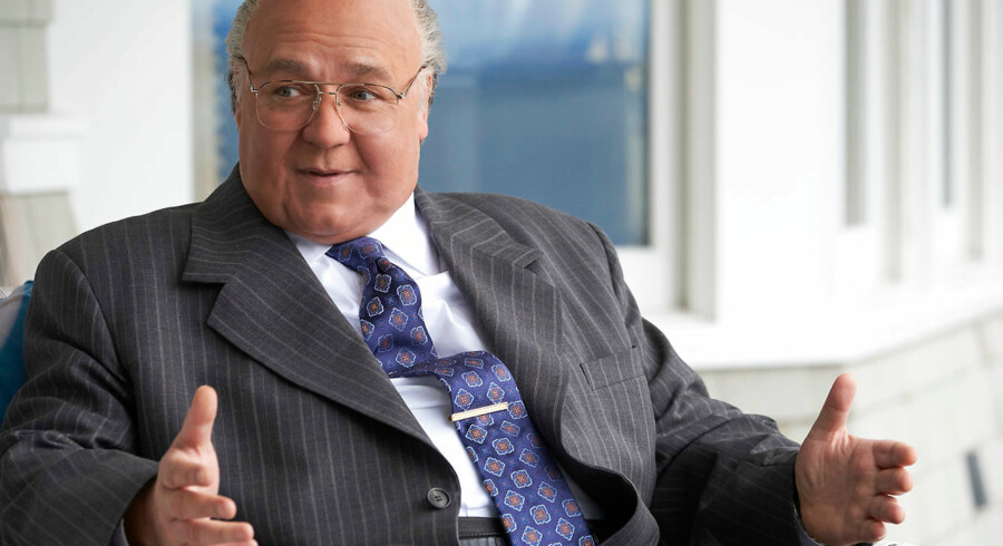 HBO Nordics serie om Roger Ailes, »The Loudest Voice«, har Russell Crowe i hovedrollen.