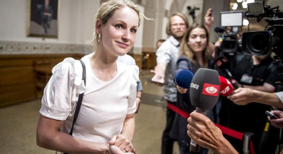 Pernille Skipper og Enhedslisten binder befolkningen usandheder på ærmet, mener Leif Tullberg. Arkivfoto: Mads Claus Rasmussen/Ritzau Scanpix