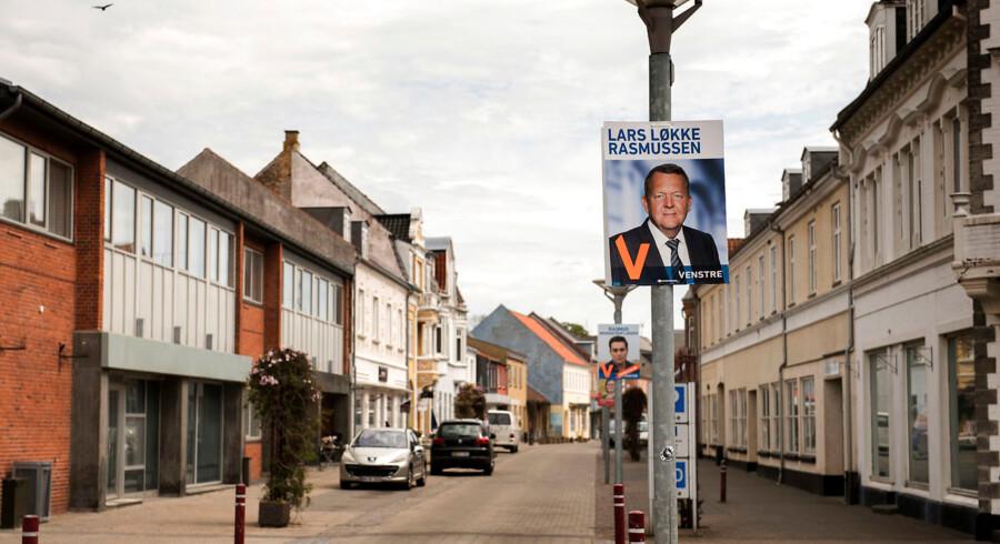 I Rødby (på billedet) og i Lolland-kredsen som sådan holdt en fjerdedel af de stemmeberettigede borgere sig fra stemmeboksen til folketingsvalget i juni. Det er ifølge en ekspert og flere politikere med lokalkendskab til området udtryk for en større social tendens.