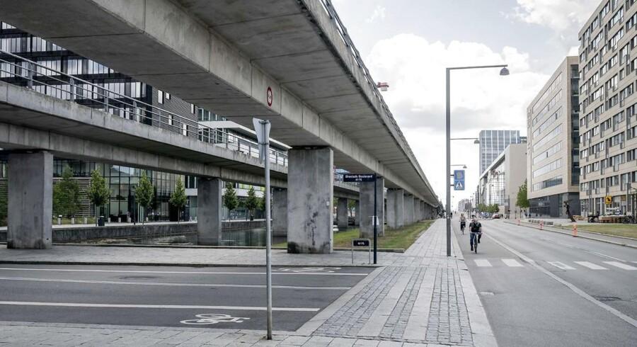 Ørestad - eller øde-stad - ligner den slags byudvikling i Kina, vi normalt bruger som eksempler på hvordan man ikke skal gøre. Tænk engang hvis den faktisk var en levende, vibrerende by.