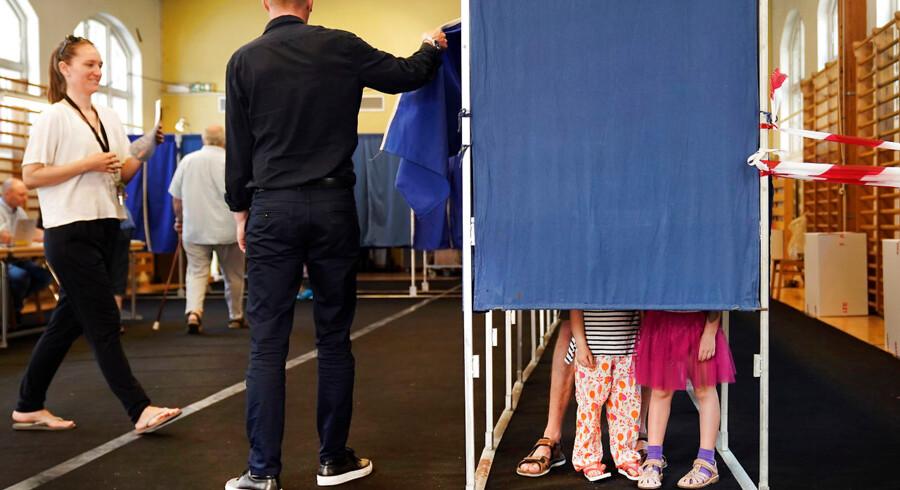 Stemmeprocenten til folketingsvalget 5. juni 2019 var 84,6.
