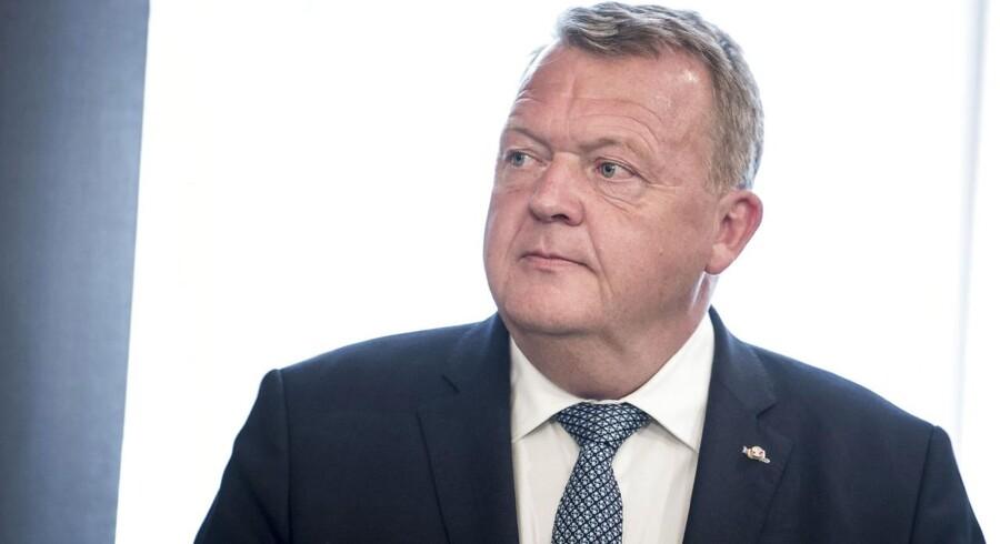 »Det er derfor svært ikke at sidde tilbage med fornemmelsen af, at Lars Løkke Rasmussen ikke alene ville være statsminister for enhver pris, men også er villig til at betale en hvilken som helst pris for at blive som partiformand,« skriver Mikkel Andersson. (Foto: Mads Claus Rasmussen/Ritzau Scanpix)