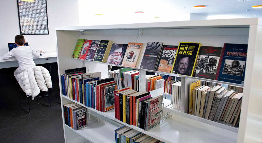 Biblioteker er ikke kun et spørgsmål om udlånstal, men også om social sammenhæng i mange samfund, mener Jan M. Johansen. Arkivfoto: Jens Nørgaard Larsen/Ritzau Scanpix
