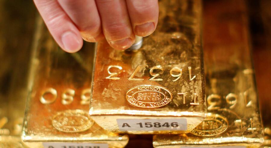 Guld er ved at blive populært igen som investeringsobjekt. Foto: Lisi Niesner/Reuters/Ritzau Scanpix