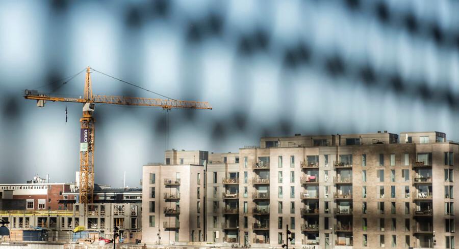 Der var været godt gang i byggeriet af boliger i København de seneste år, men der er blevet bygget få små boliger.