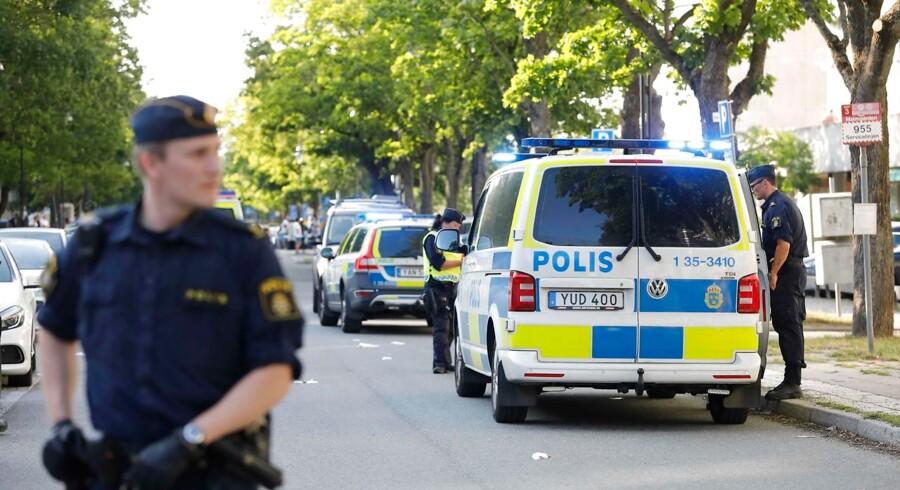 Manden har dokumenteret forhold, som »har stor betydning for Sveriges sikkerhed. Det er ikke oplyst hvilke forhold.