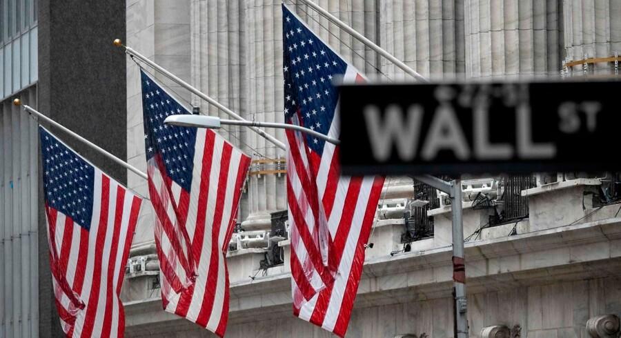 Der har været meget uro på Wall Street de seneste dage, men tirsdag er der lidt mere ro på. Foto: Johannes Eisele/AFP/Ritzau Scanpix