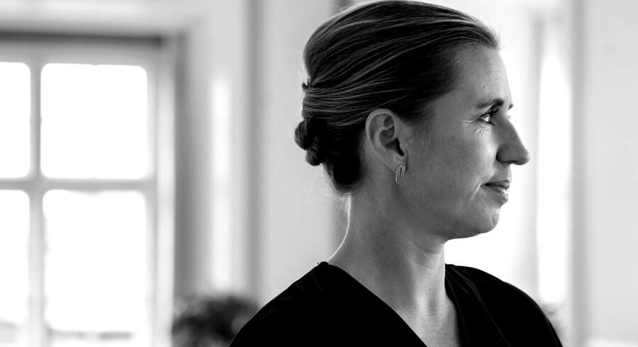Statsminister Mette Frederiksen - fotograferet i Statsministeriet.