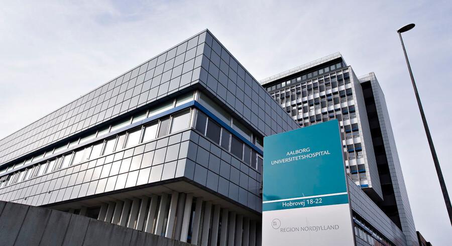Aalborg Universitetshospital er blevet færdige med at undersøge hundredvis af patienter, efter at en medarbejder havde smitsom tuberkulose. (Arkivfoto). - Foto: Henning Bagger/Ritzau Scanpix