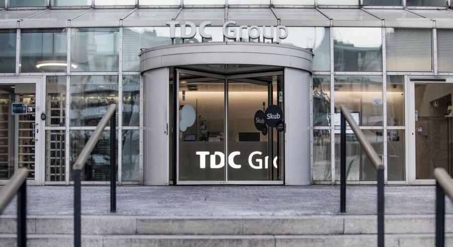 Danmarks største telekoncern, TDC, blev op til sommerferien splittet i to selskaber, som nu konkurrerer – også med hinanden – men stadig har samme ejere. Arkivfoto: TDC